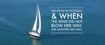 Keep the Wind in your Sails – my Achilles Heel