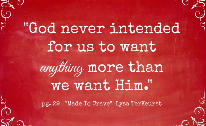 Learning to Want What God Wants For Us